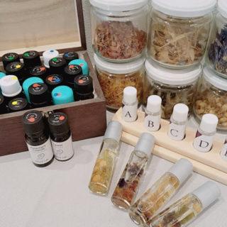 11月3日 対面イベント「Be myself」に出店致します。嗅覚反応分析&塗るハーバリウム作り